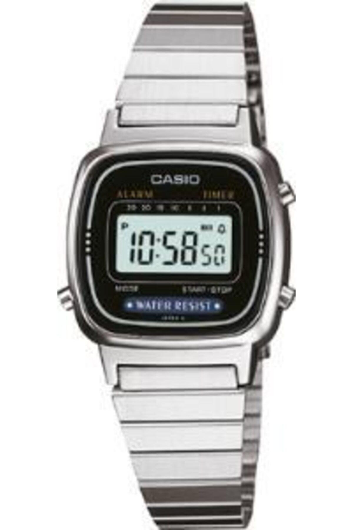 Casio La670wa-1df Ersa Garantili Retro Metalik 1