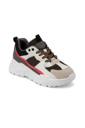 Kinetix Arya 9pr Beyaz Kadın Kalın Taban Sneaker Spor Ayakkabı