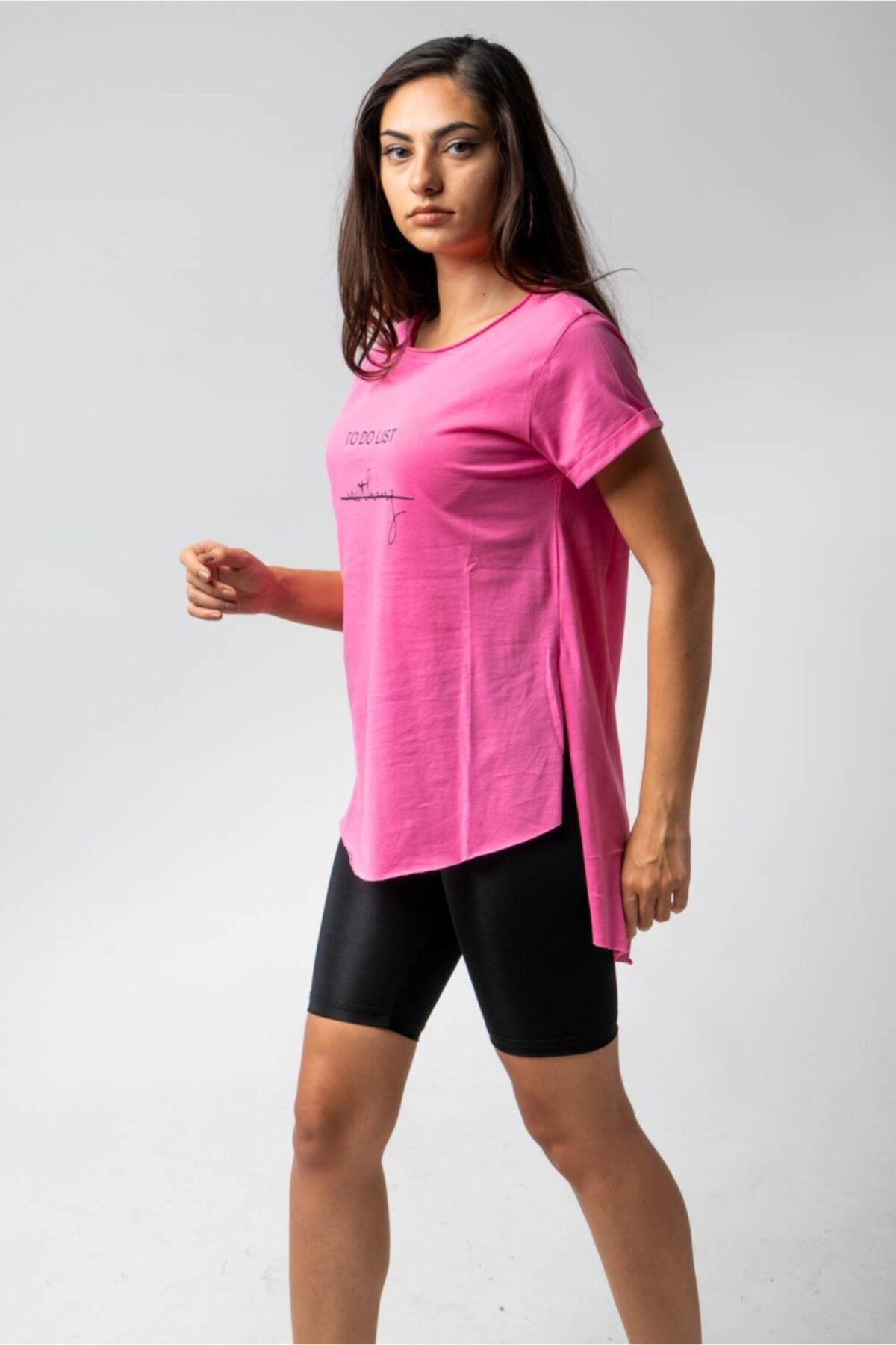 CNS To Do List Nothing- Baskılı T-shirt 1