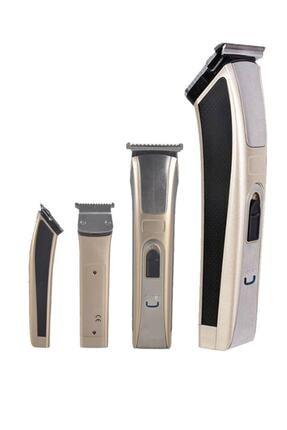 AKCMARKET Profesyonel Titanyum T Bıçaklı Tıraş Makinesi Saç Ve Sakal Düzeltici Ense Tüy Kesme Traş Makinası