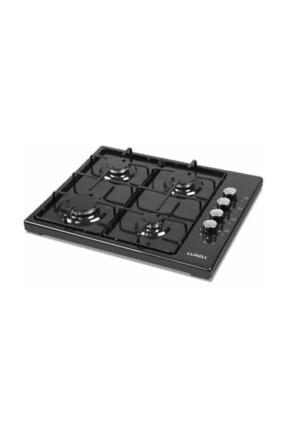 Luxell Lx-420 F Gazlı Set Üstü Siyah Ocak Doğalgazlı
