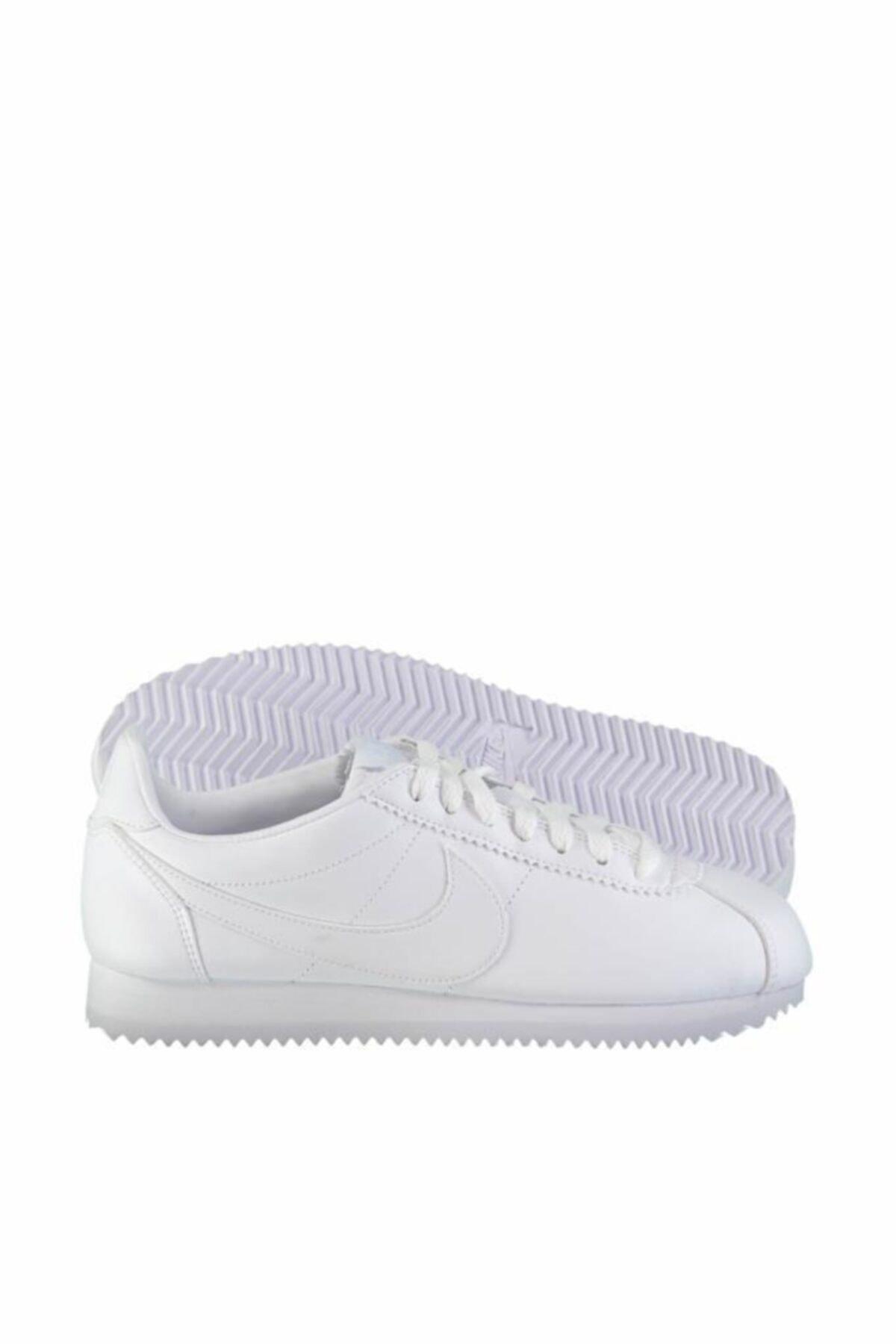 Nike Classic Cortez Leather 807471-102 Bayan Spor Ayakkabı 1