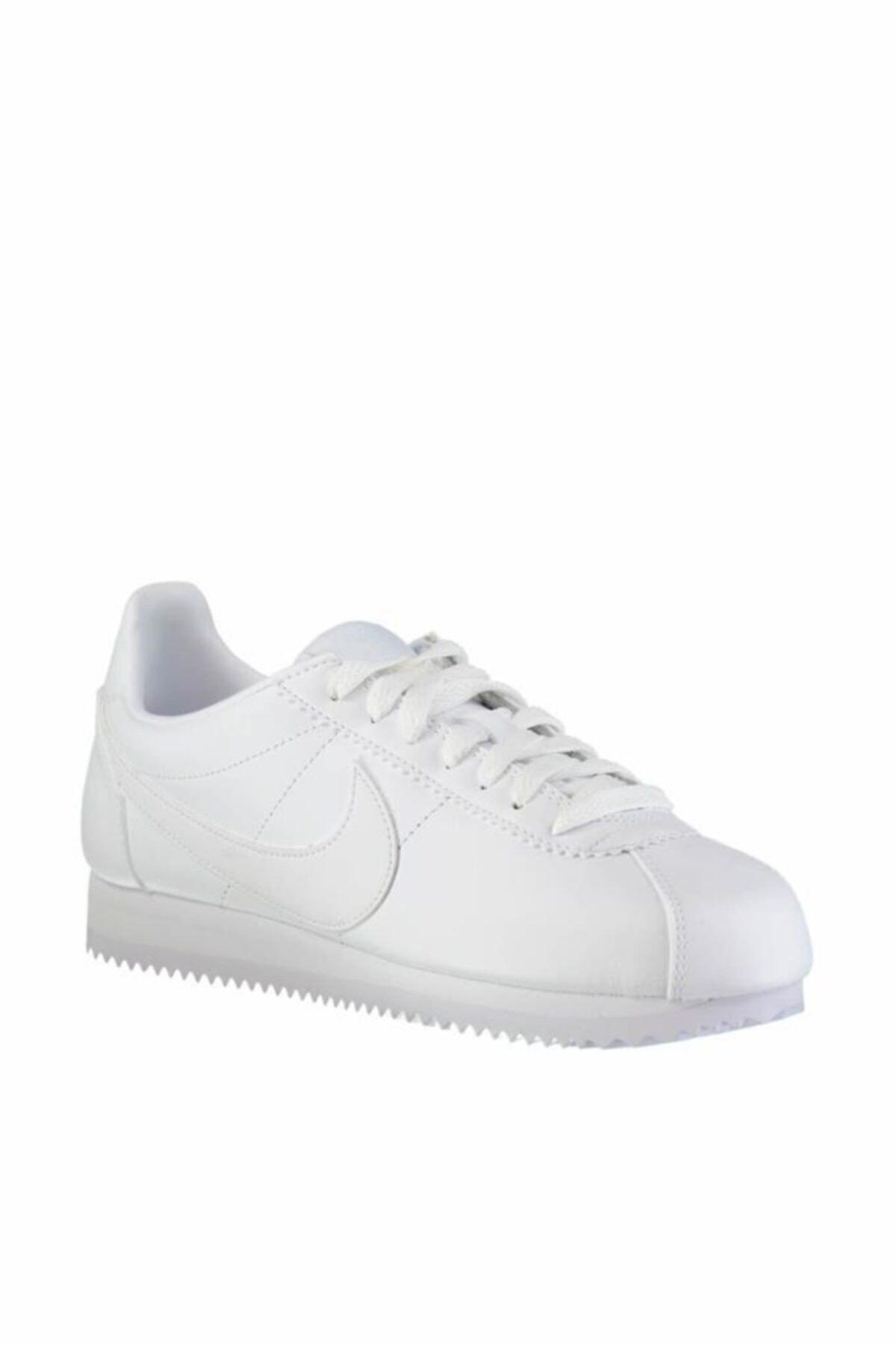 Nike Classic Cortez Leather 807471-102 Bayan Spor Ayakkabı 2