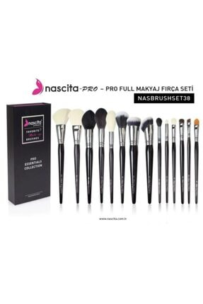 nascita Pro Essentials Collection Makyaj Fırça Seti Full Nasbrushset38