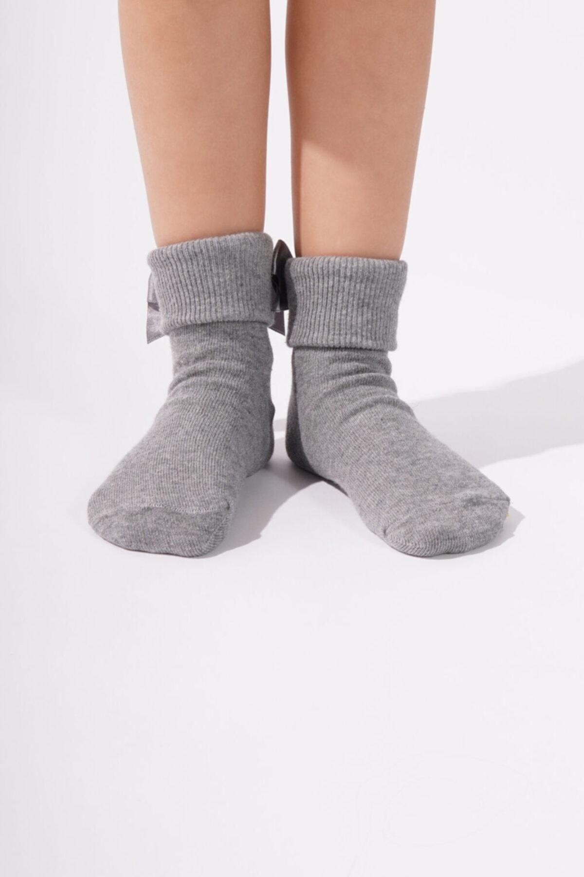 Katia&Bony Newyork Çocuk Soket Çorap - Antrasit 2