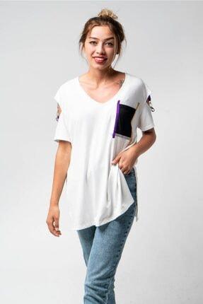 CNS Cepli, Kol Detaylı Salaş T-shirt