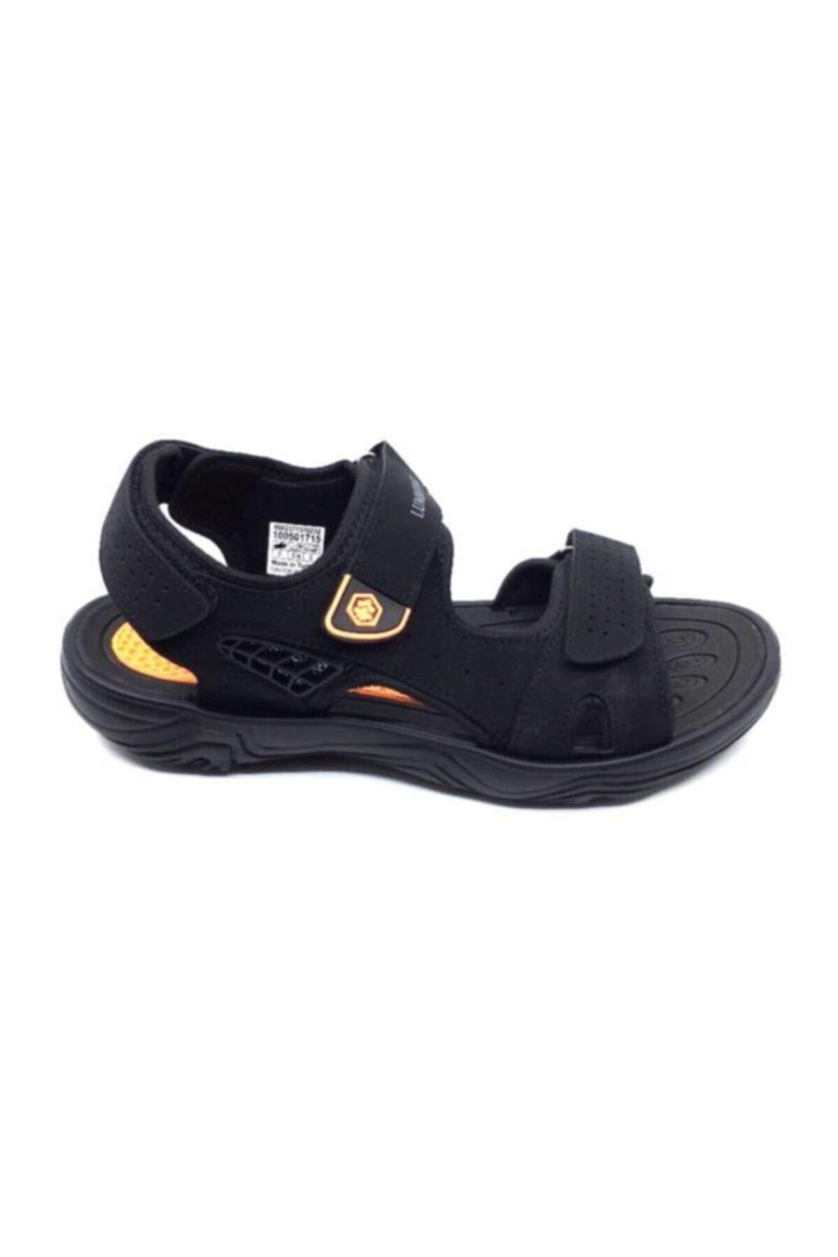 lumberjack KASS Siyah Erkek Sandalet 100501715 1