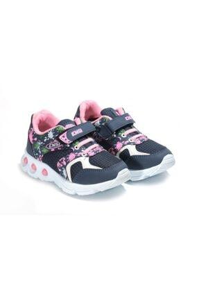 GÜRCAN Kız Çocuk Lacivert Bantlı Spor Ayakkabı