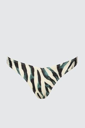 TRENDYOLMİLLA Leopar Desenli V Kesim Bikini Altı TBESS20BA0012