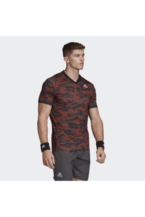 adidas Fk0820 Freelift Primeblue Erkek Kırmızı Tişört