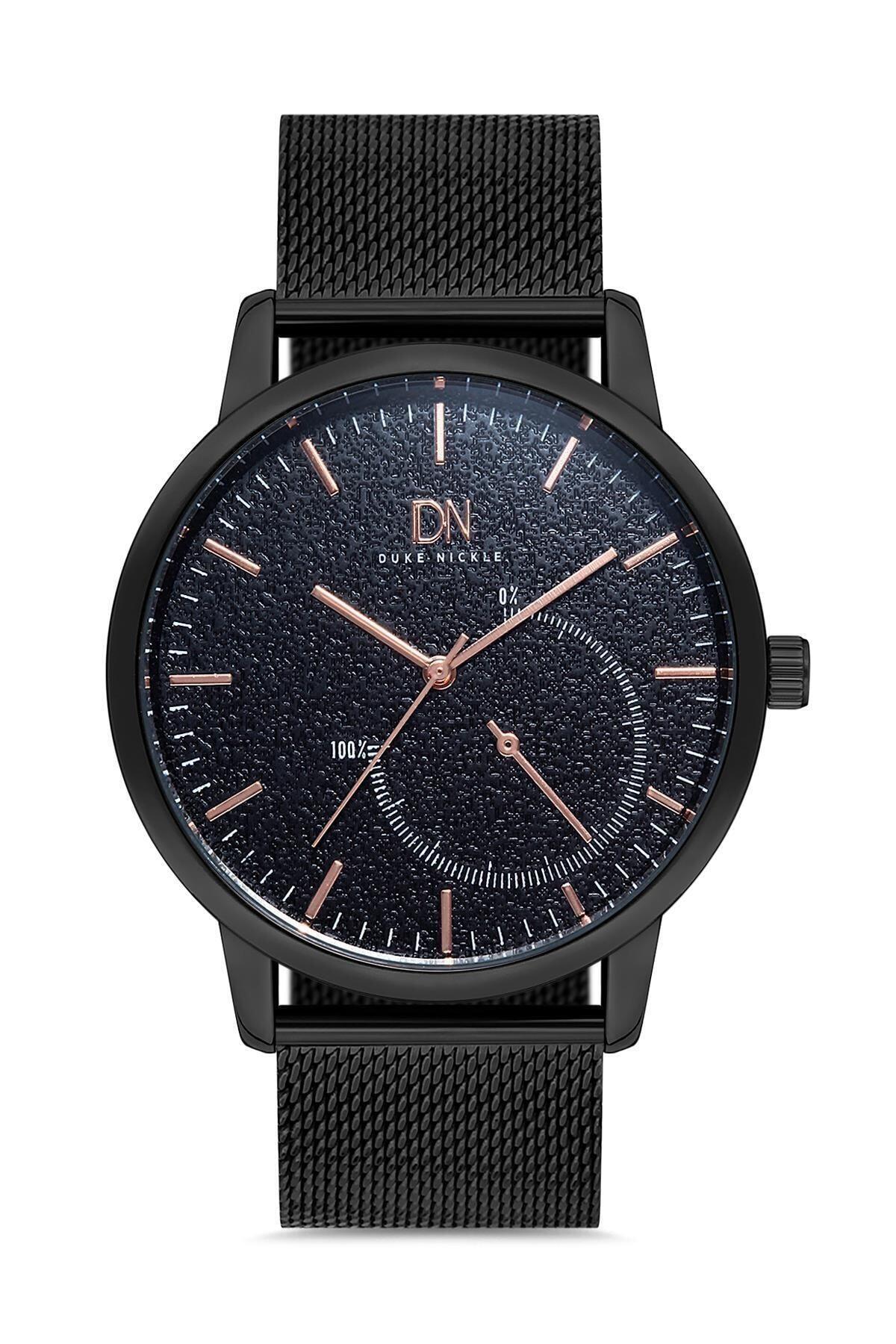 Duke Nickle Deh1c2 Erkek Kol Saati Hasır Siyah 1
