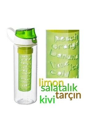 Herevin Detoks Matara 750 Ml. Filtre Su Şişesi ( Yeşil )