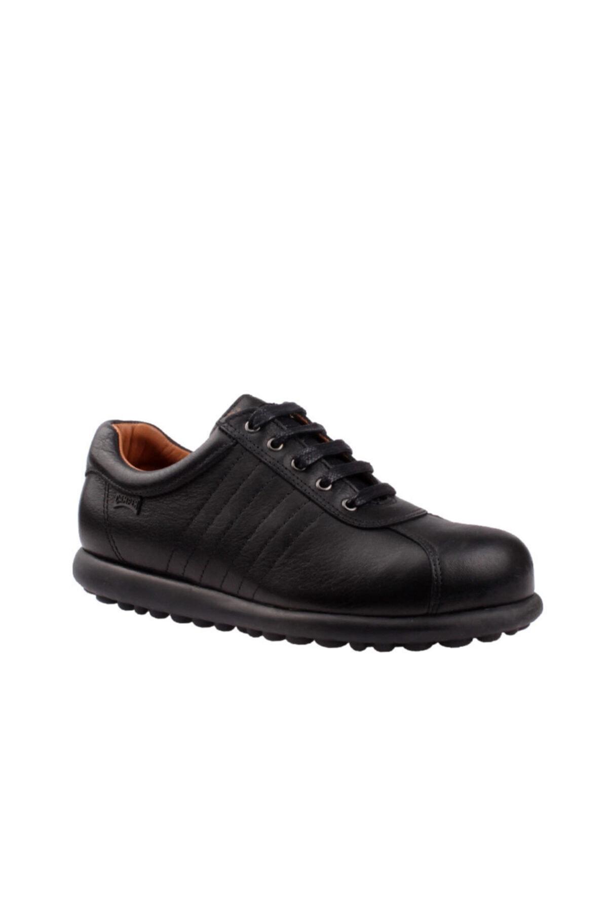 CAMPER Kadın Siyah Hakiki Deri Pelotas Ariel Sneaker 27205-233 1