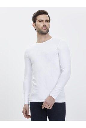 Loft Erkek Slim Fit Uzun Kol Tişört