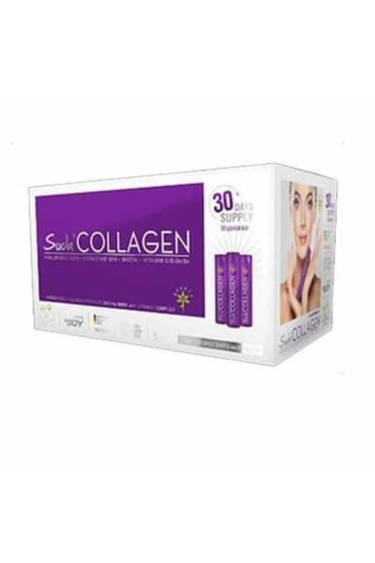 Suda Collagen 40 ml 30 Adet Aylık Paket (Erik Aromalı) 1