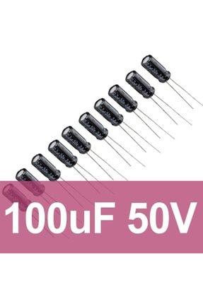 Robocombo 100uf 50v Elektrolitik Kondansatör (10 Adet)
