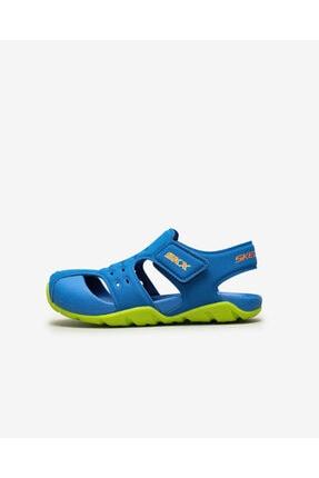 SKECHERS SIDE WAVE - Büyük Erkek Çocuk Mavi Sandalet
