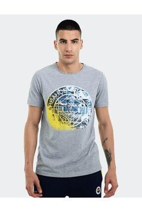 Fenerbahçe Erkek Trıbun Kafes Logo Tshırt