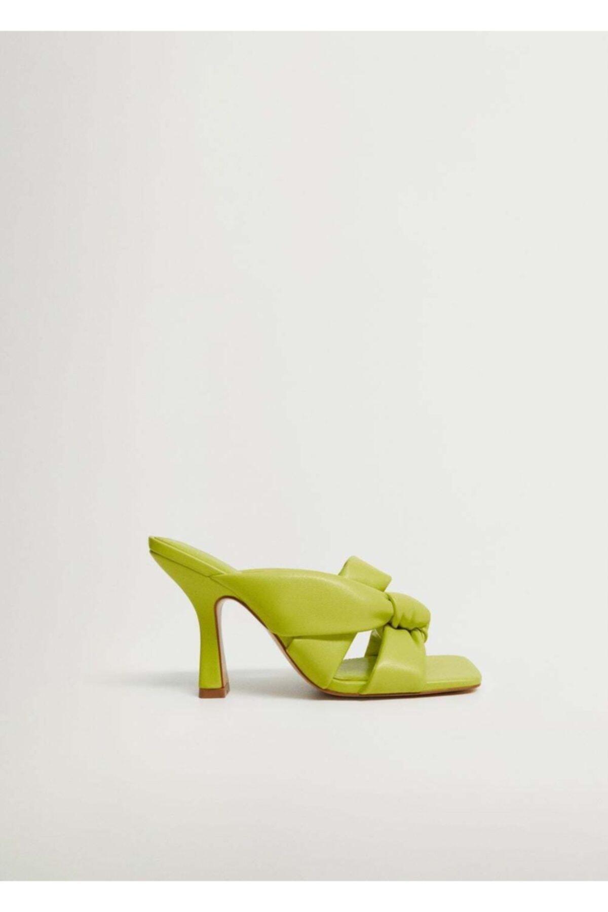 MANGO Woman Düğüm Detaylı Topuklu Ayakkabı 2