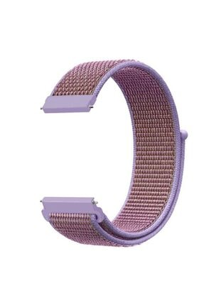 Markacase Samsung Galaxy Watch 3 41 Mm(Sm-r850) Için Dokuma Kordon Lilac