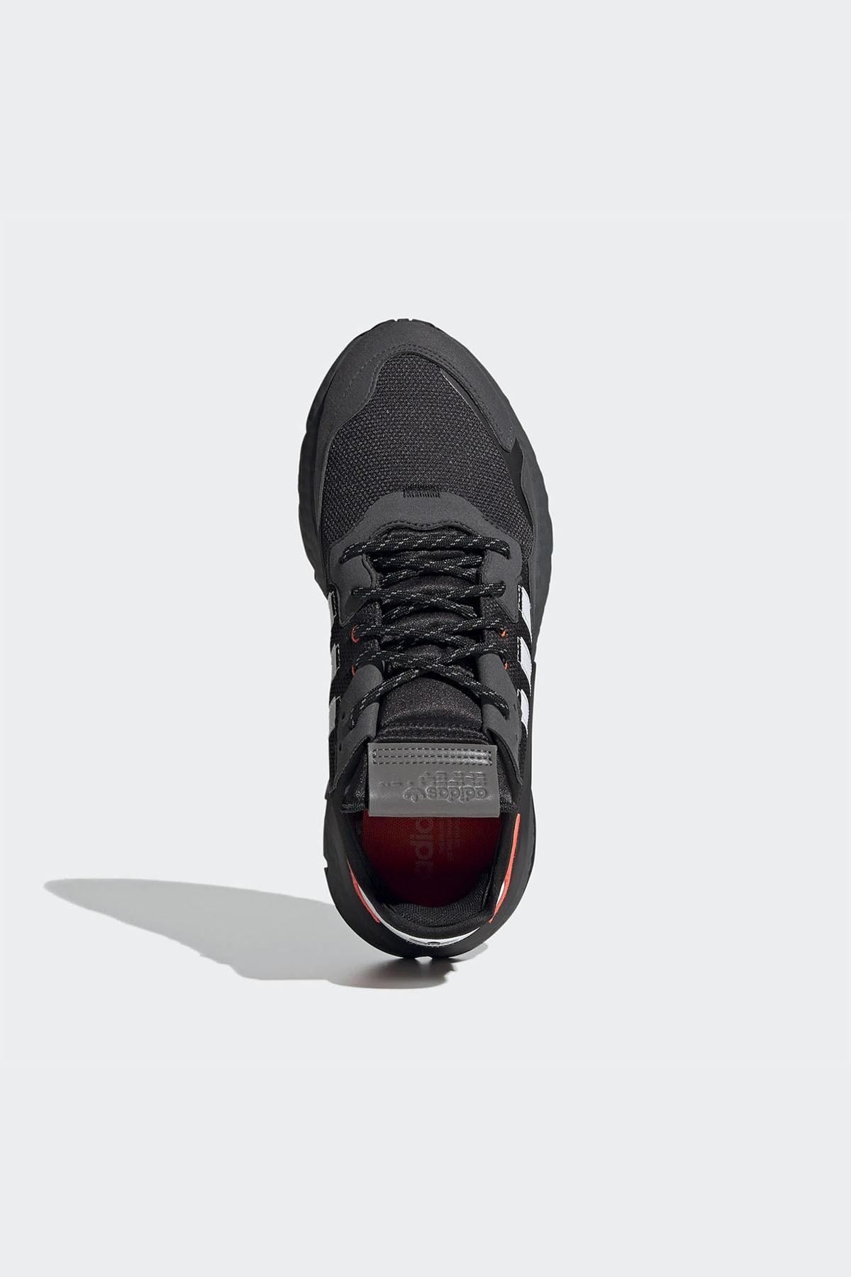 adidas Erkek Siyah Bağcıklı Sneaker 2