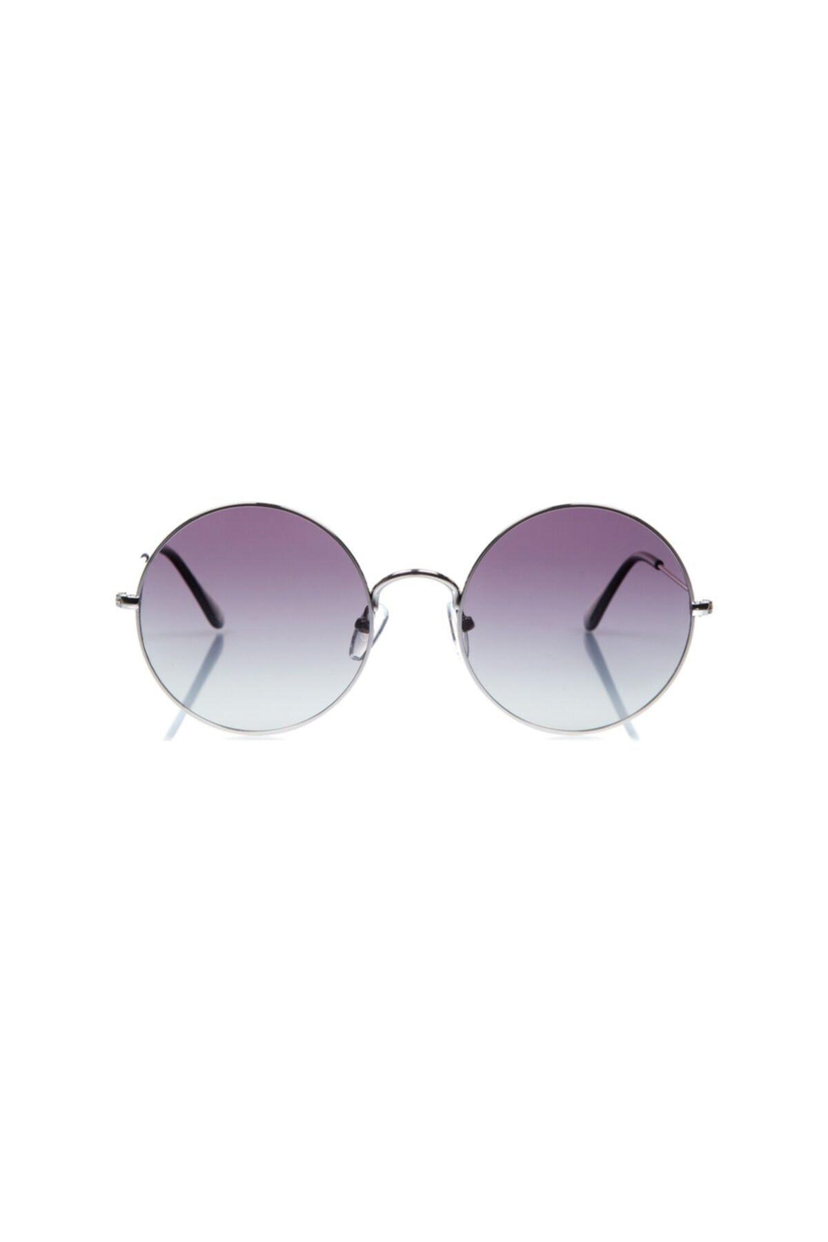 Optoline Unisex Gümüş Güneş Gözlüğü 2
