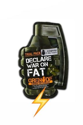 Grenade Thermo Detonator 4 Kapsül Enerji Güç Kafein Yeşil Çay Turunç Ekstresi