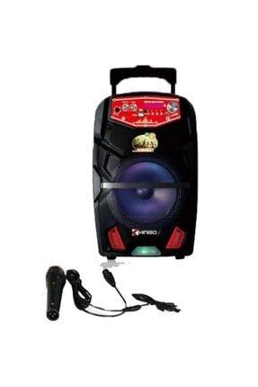 Platoon Pl-4427 Bluetooth Usb/sd/aux Karaoke Mic. Speaker Taşınabilir Hoparlör