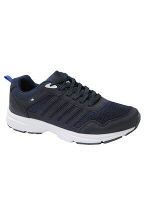MP Erkek Bağcıklı Lacivert Koşu Ayakkabı 201-6803mr 300