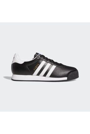 adidas Samoa Leather Erkek - Kadın Siyah Spor Ayakkabı (019351)