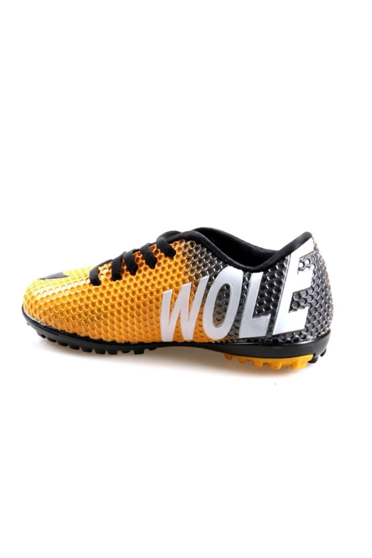 Pinkstep Wolecool 3 Renk Renk Erkek Çocuk Futbol Ayakkabı 2