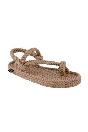 Nomadic Republic Hawaii Erkek Halat Sandalet - Bej