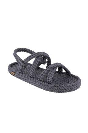 Nomadic Republic Tahiti Erkek Halat Sandalet - Gri