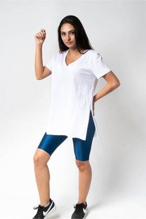 CNS V Yaka Uzun Salaş T-shirt
