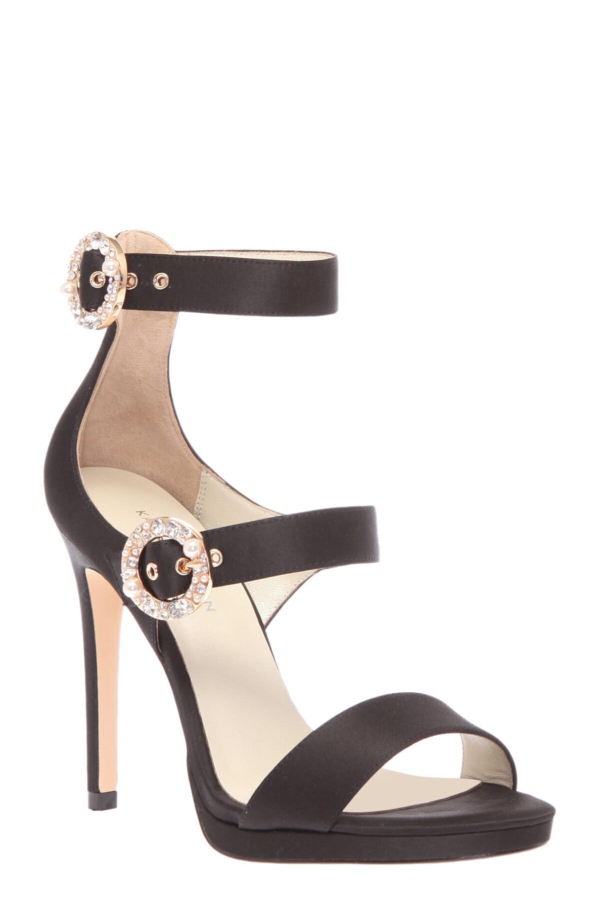 Karen Millen Siyah Sandalet 2