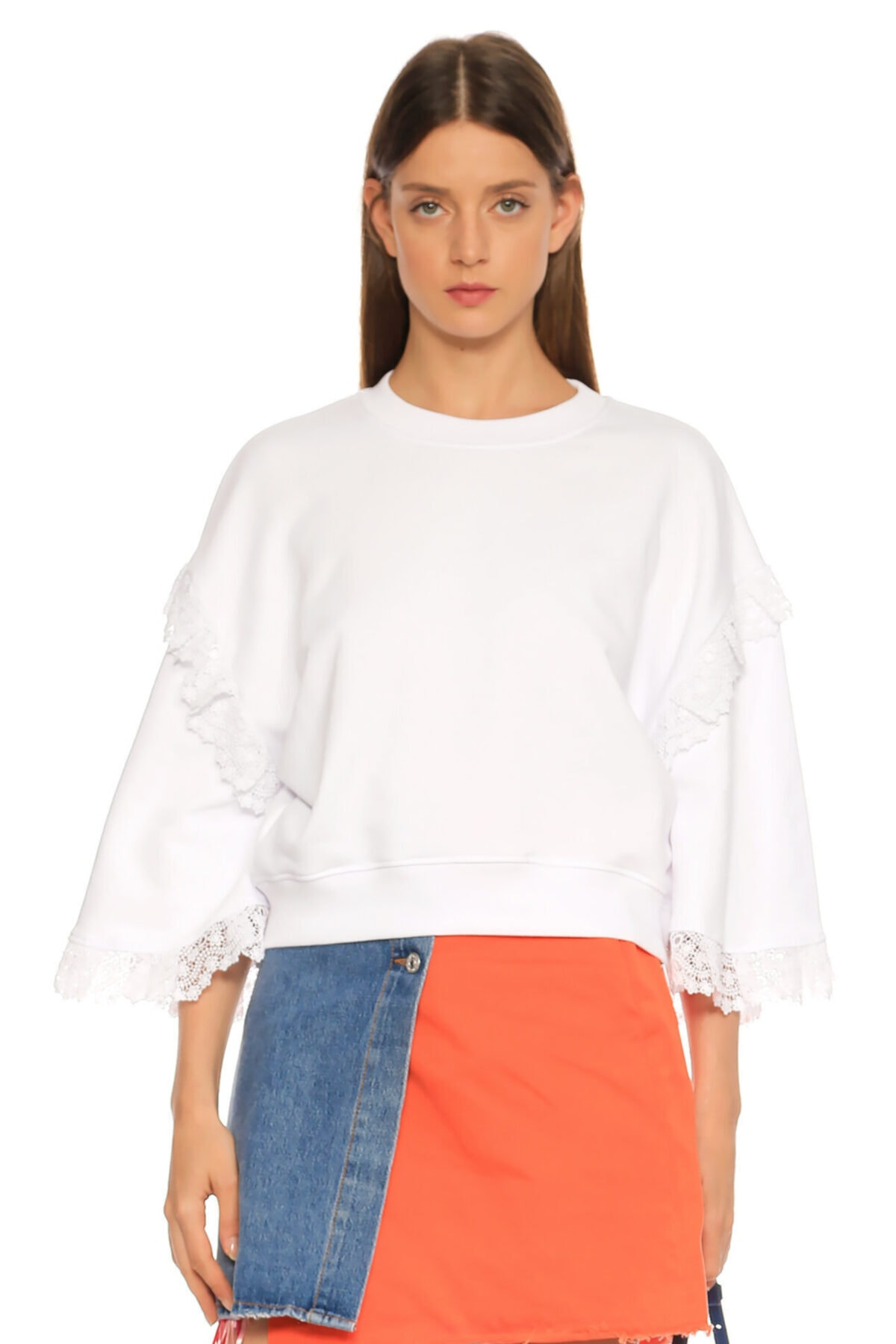 MSGM Beyaz T-shirt 1