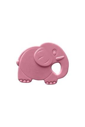 Bambino Kauçuk Yumuşak Diş Kaşıyıcı Pembe Fil