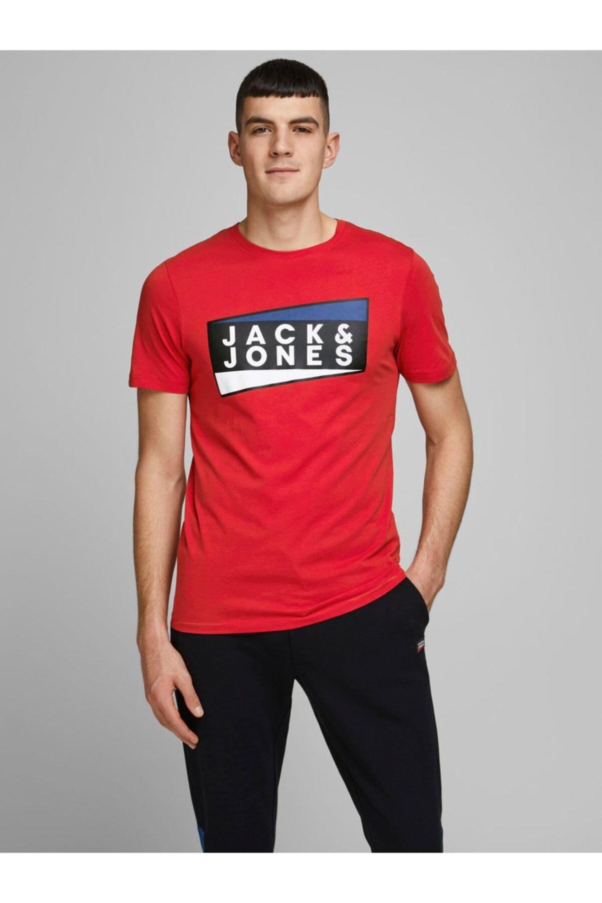 Jack & Jones Jack Jones Shaun Erkek Tişört 12172246 1