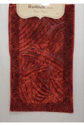 Özdilek Shiny Eskitme Klozet Takımı Makarnalı Kırmızı