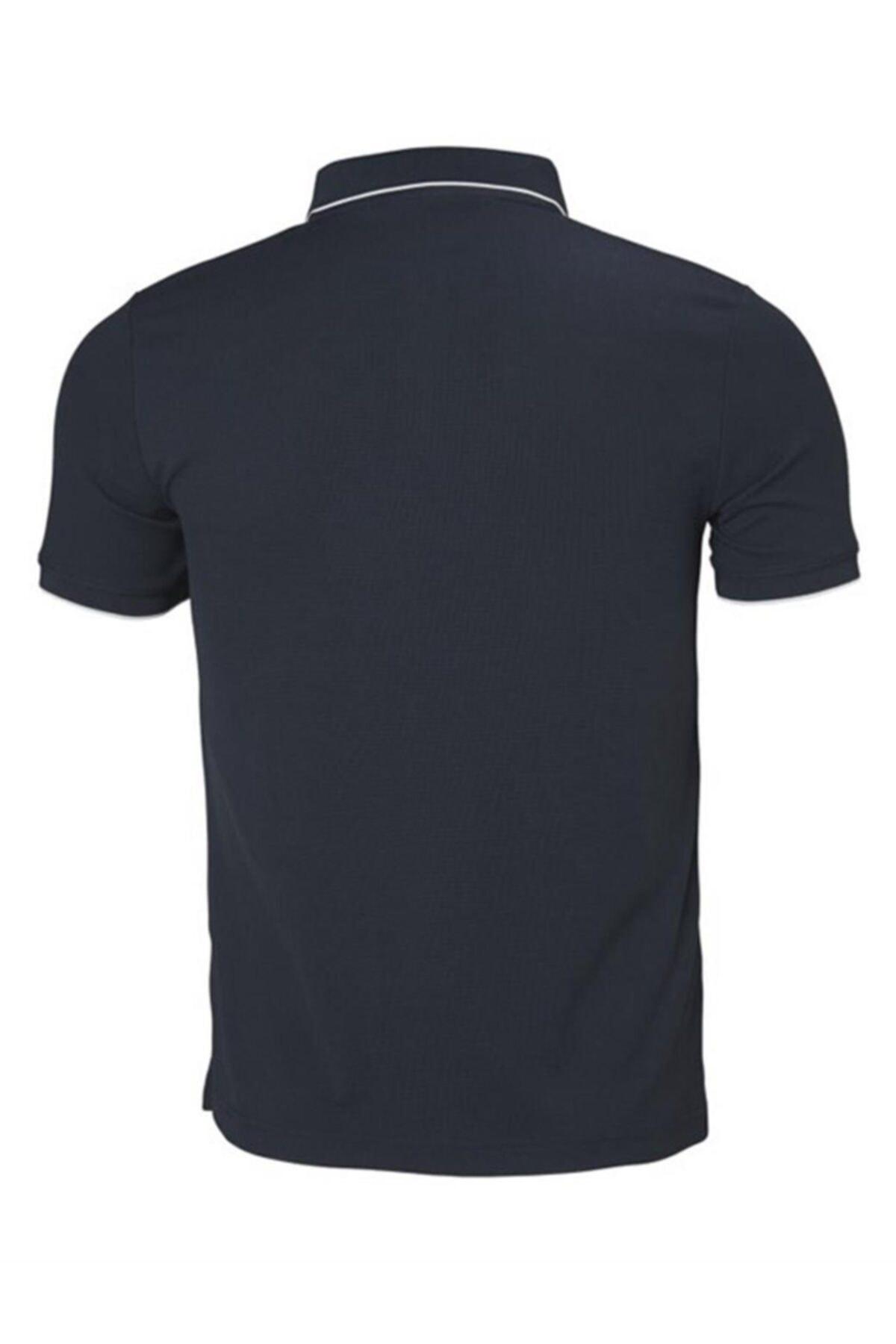 Helly Hansen Kos Polo Yaka Erkek T-shirt Lacivert 2