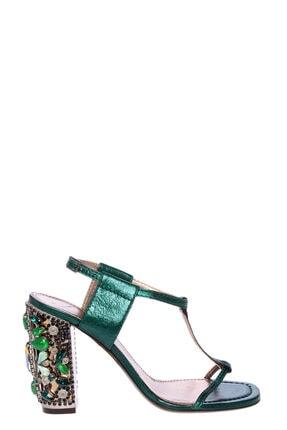 Lanvin Yeşil Sandalet