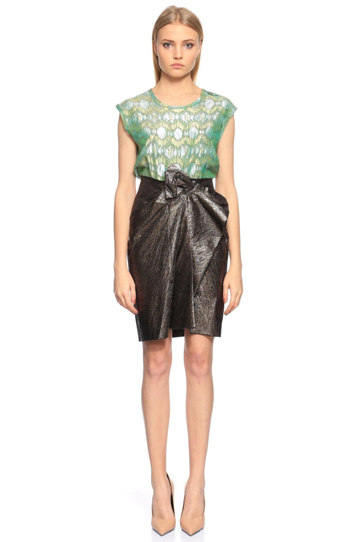 Lanvin Yeşil Bluz 2