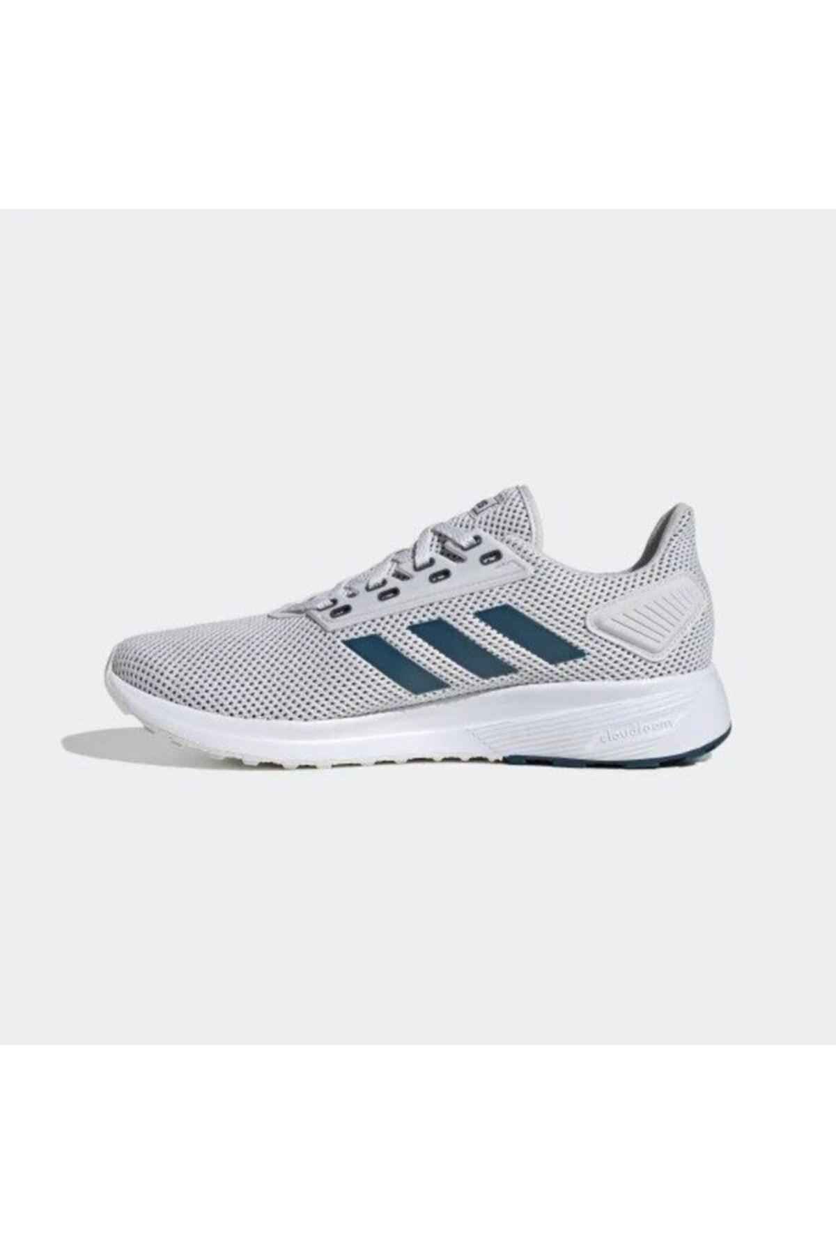 adidas DURAMO 9 Gri Erkek Koşu Ayakkabısı 100533689 1