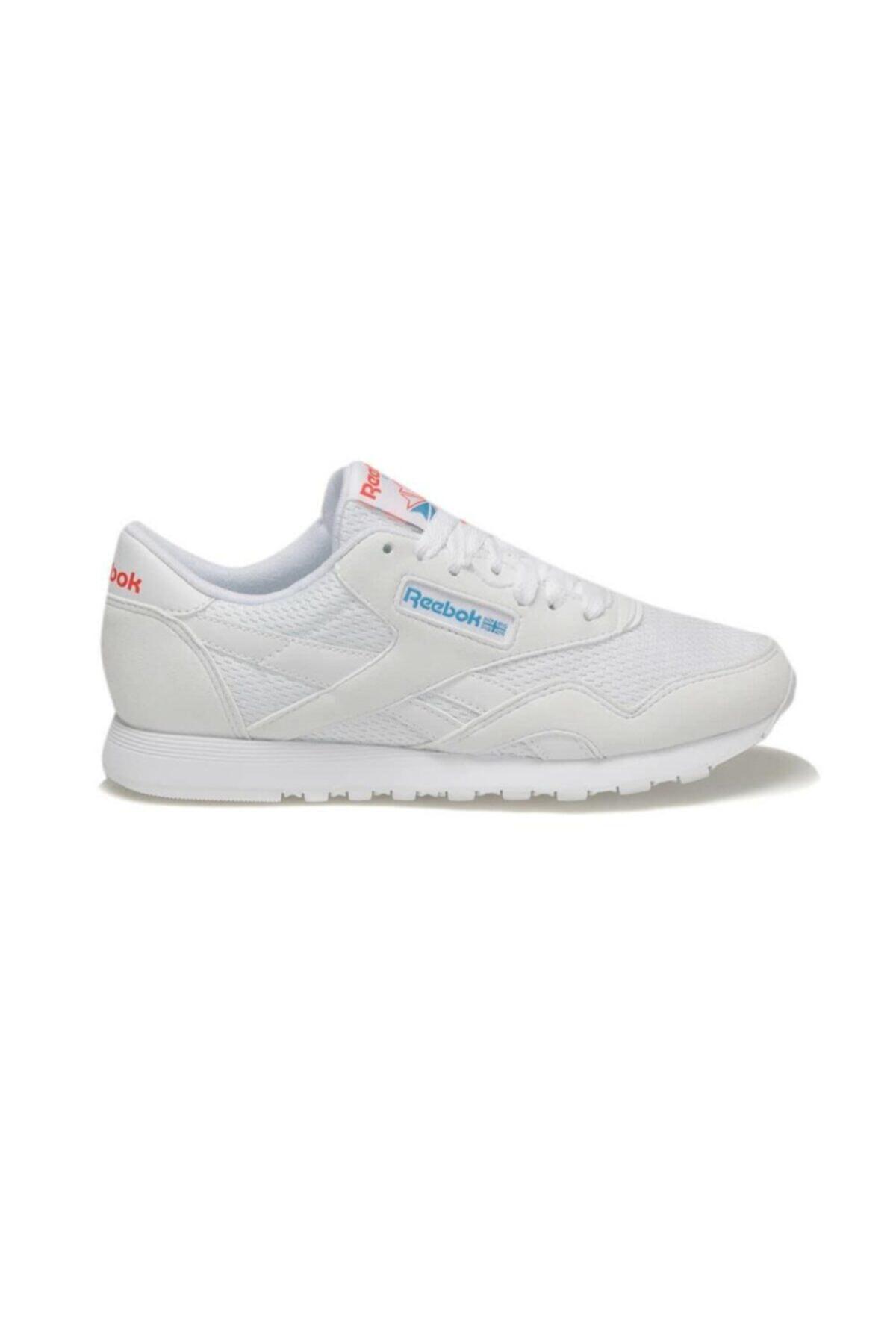 Reebok CL NYLON TXT Beyaz Kadın Koşu Ayakkabısı 100413236 1