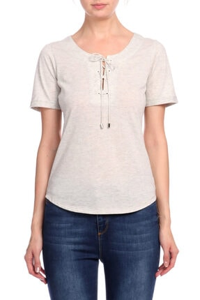 Karen Millen Gri T-shirt