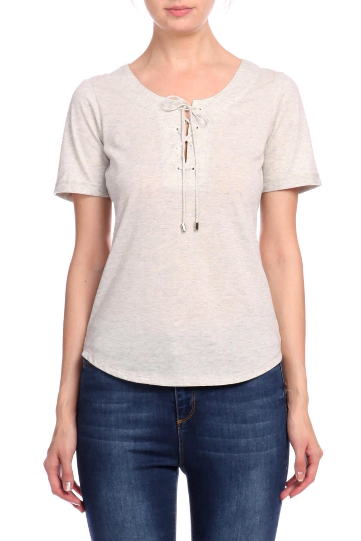 Karen Millen Gri T-shirt 1