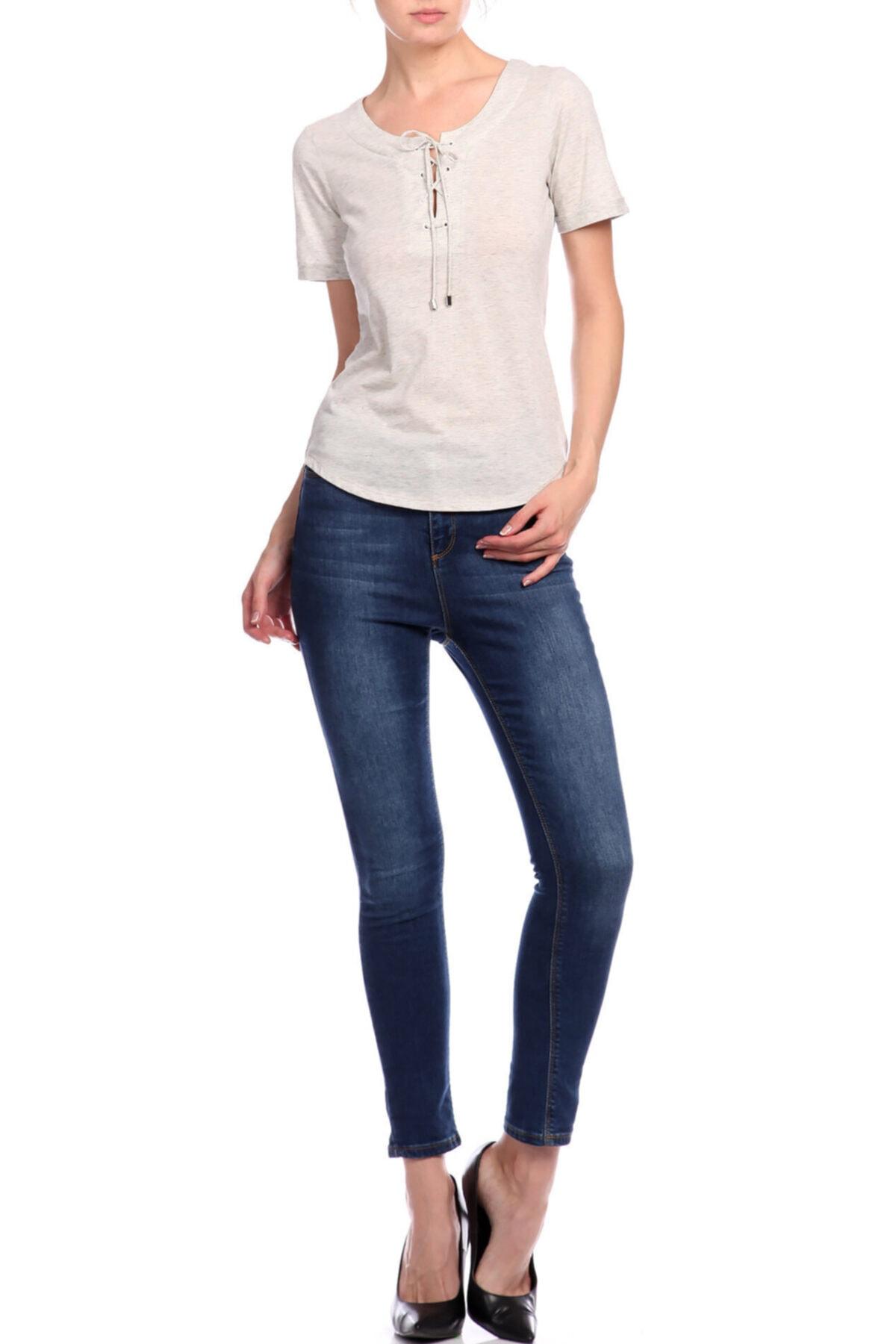 Karen Millen Gri T-shirt 2