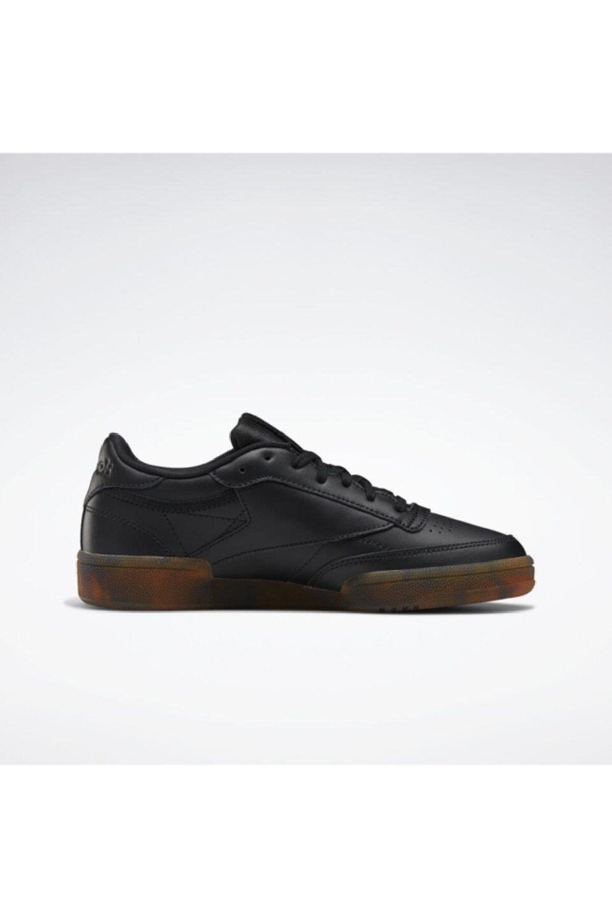 Reebok Eh1511 Club C 85 Kadın Günlük Siyah Spor Ayakkabı 2