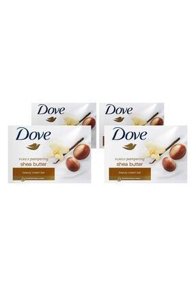 Dove Cream Bar Shea Yağı & Vanilya Katı Sabun 100 gr X4