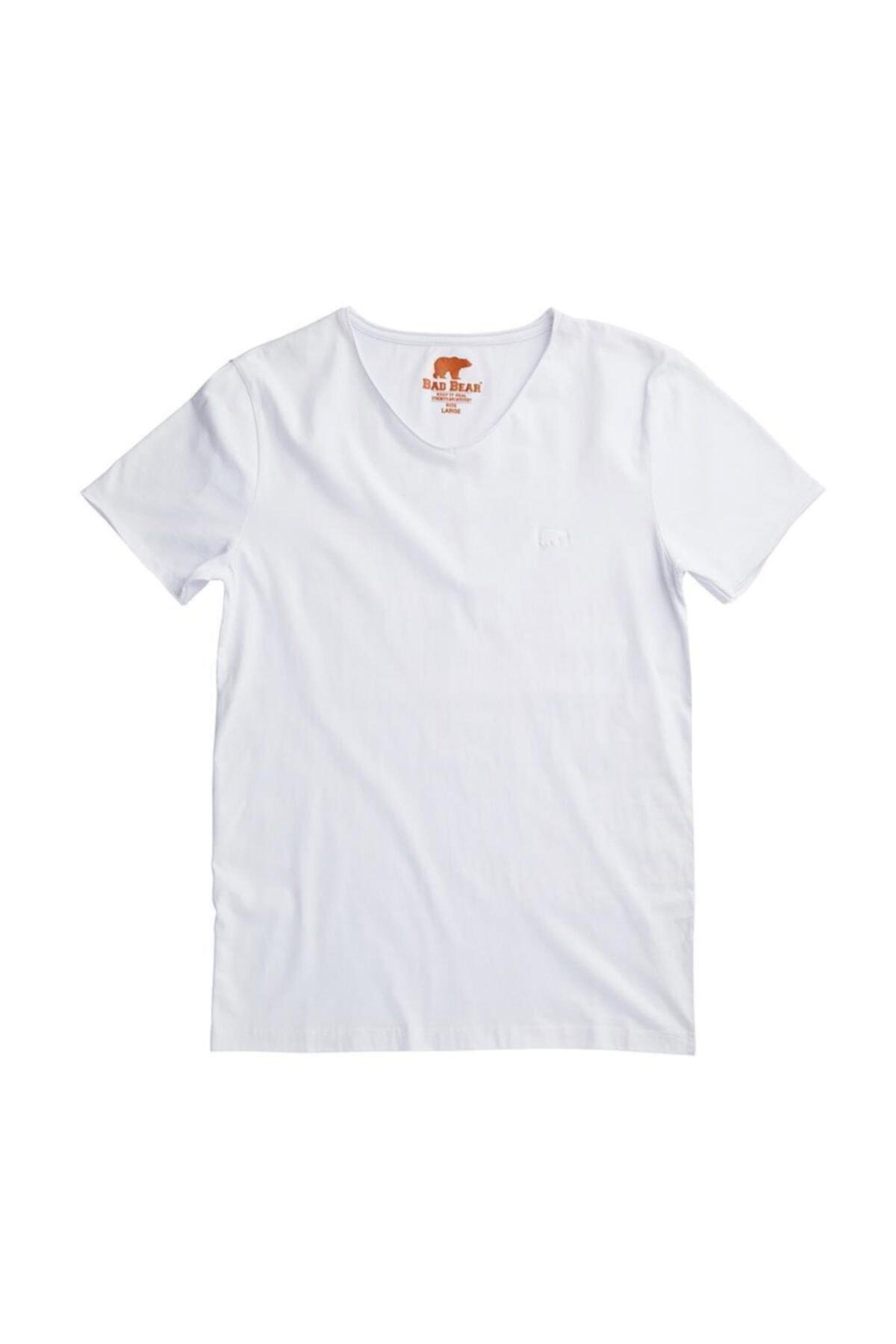 Bad Bear Erkek T-shirt V Yaka 1